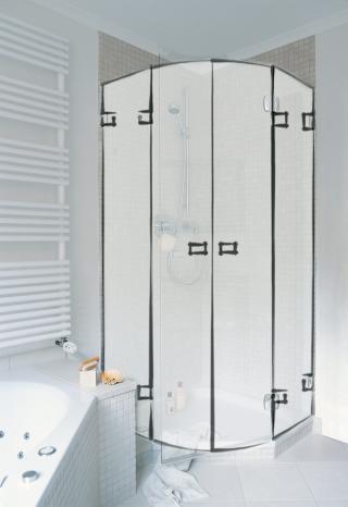 type r2 rund und 135 duschen glas dusche glasdusche duschen nach ma. Black Bedroom Furniture Sets. Home Design Ideas